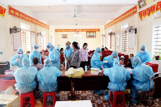Chùm ảnh khu phong tỏa ở huyện Nghi Xuân (Hà Tĩnh) - Ảnh 14.