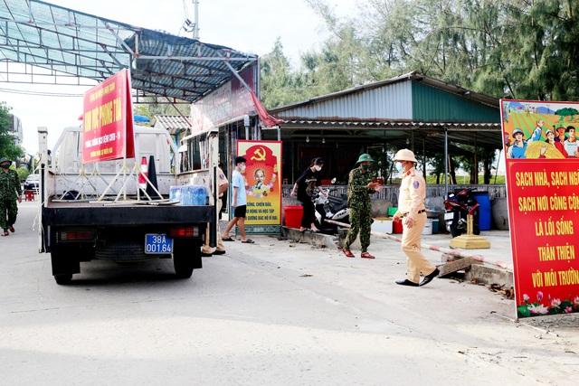 Chùm ảnh khu phong tỏa ở huyện Nghi Xuân (Hà Tĩnh) - Ảnh 4.