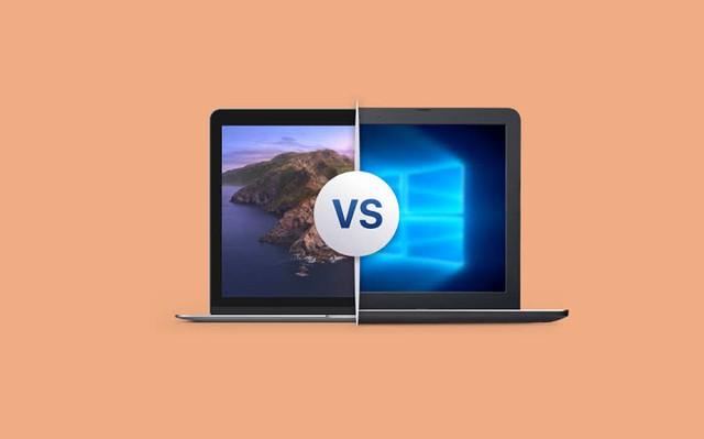 5 so sánh nhanh giữa MAC và PC - Ảnh 1.