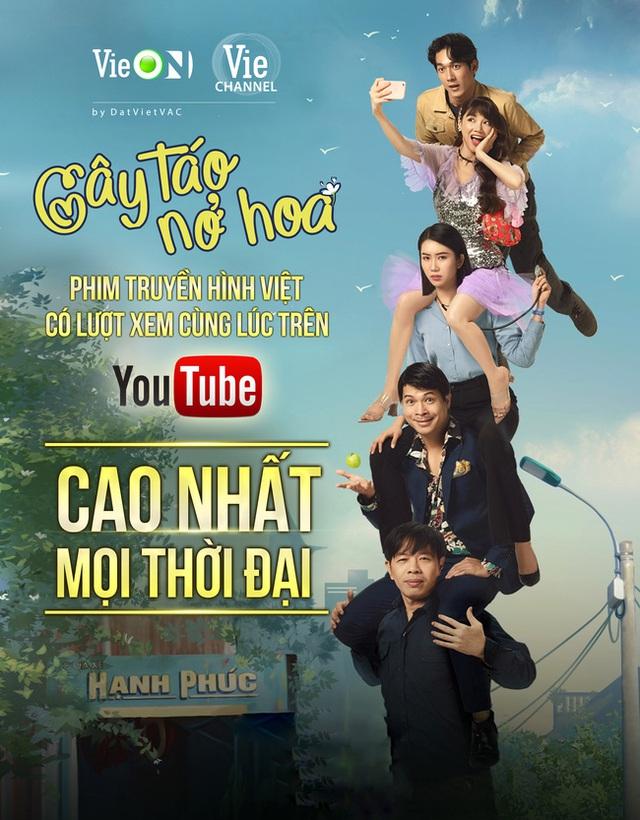 Cây táo nở hoa lập kỷ lục phim truyền hình Việt có lượt xem cùng lúc cao nhất mọi thời đại - Ảnh 4.