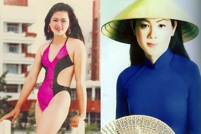 Nhan sắc á hậu Vi Thị Đông tuổi 46 - Ảnh 2.