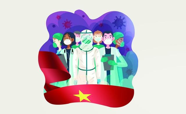 """Việt Nam những ngày kiên cường chiến đấu với """"giặc"""" COVID-19 - Ảnh 1."""