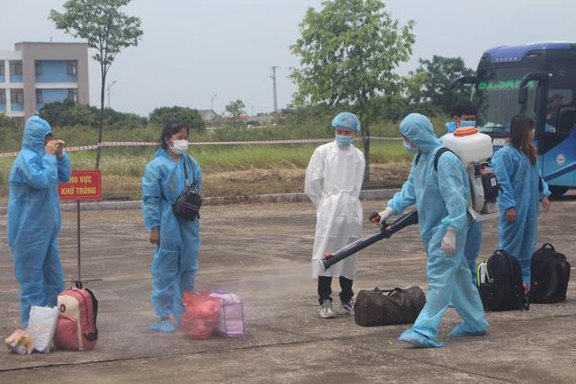 Thanh Hóa tiếp nhận 422 công dân từ Bắc Giang trở về địa phương - Ảnh 7.