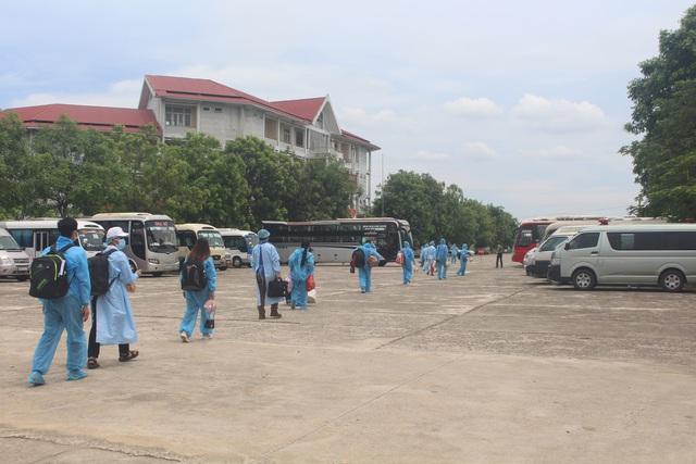 Thanh Hóa tiếp nhận 422 công dân từ Bắc Giang trở về địa phương - Ảnh 5.