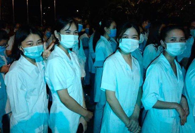 """Vừa rời Bắc Giang, nhiều sinh viên ngành y ở Hải Dương lại """"Nam tiến"""" giúp TP.HCM chống dịch"""