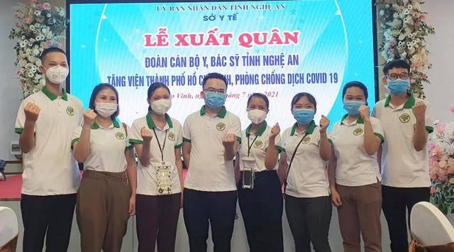 60 y, bác sĩ Nghệ An chi viện TP HCM với quyết tâm sớm đẩy lùi dịch COVID-19 - Ảnh 5.