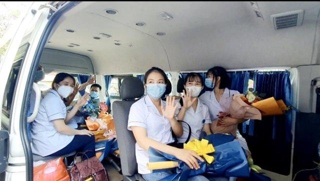 60 y, bác sĩ Nghệ An chi viện TP HCM với quyết tâm sớm đẩy lùi dịch COVID-19 - Ảnh 3.