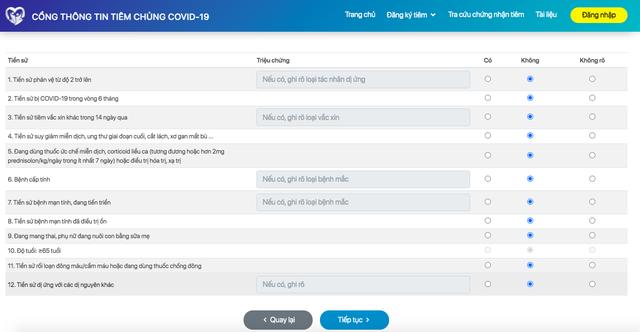 Đăng ký online tiêm vaccine COVID-19, người dân cần chuẩn bị thông tin gì? - Ảnh 4.