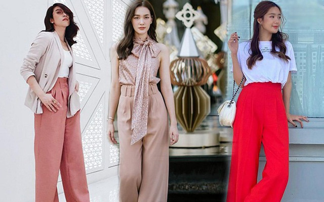 بیاموزید که چگونه شلوارهای پهن فوق العاده زیبای انجمن دختران تایلند را بپوشید - عکس 1.
