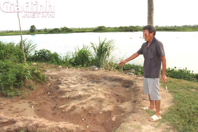 Kế hoạch ngụy trang hòng trốn tội của kẻ sát hại, chôn xác chủ nợ ở Hải Dương - Ảnh 3.