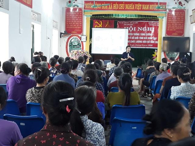 Nam Định thông qua Nghị quyết chi bồi dưỡng hằng tháng cho cộng tác viên dân số - Ảnh 1.