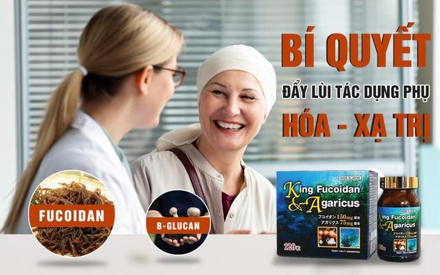 Sản phẩm chứa Fucoidan và nấm Agaricus hỗ trợ cho bệnh nhân ung thư - Ảnh 3.