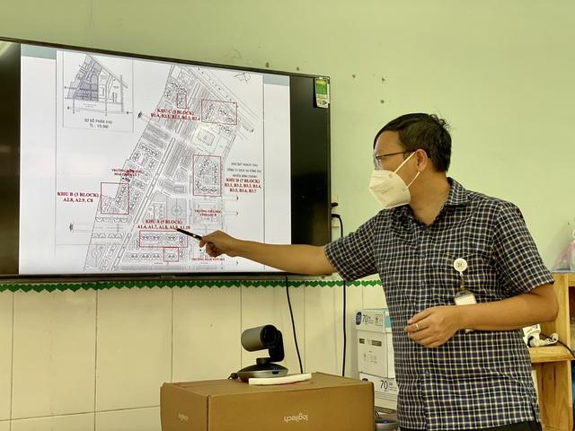 Bộ Y tế kiểm tra việc thu dung và điều trị bệnh nhân tại các bệnh viện dã chiến ở TP.HCM - Ảnh 6.