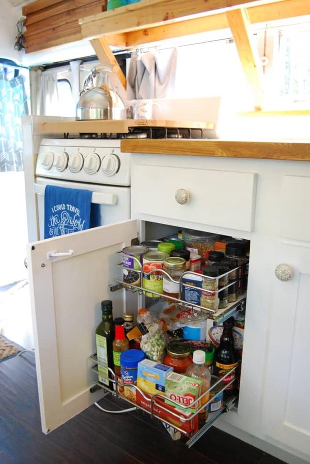 16 ý tưởng tổ chức, lưu trữ bếp tốt nhất mọi thời đại mà bạn không nên bỏ qua - Ảnh 8.