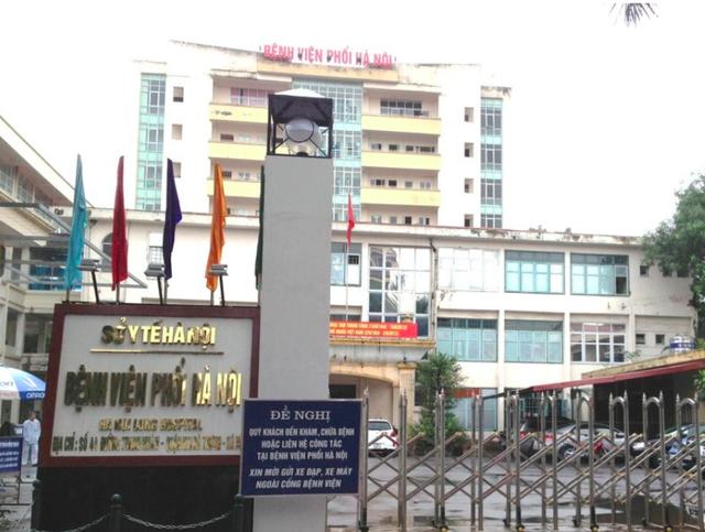 Bất ngờ có 9 ca dương tính SARS-CoV-2, Bệnh viện Phổi Hà Nội tạm dừng nhận bệnh nhân - Ảnh 3.