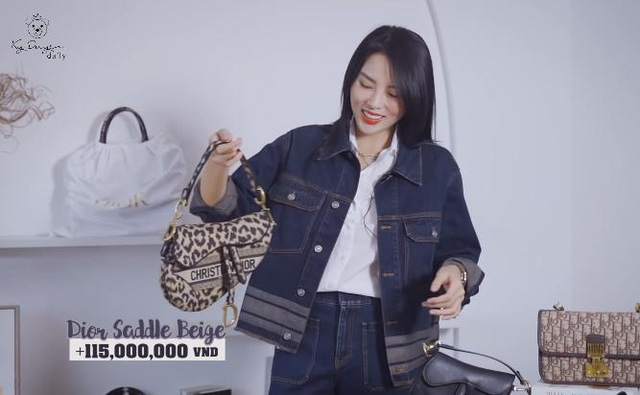Lóa mắt tủ đồ Dior nửa tỷ của Hoa hậu Kỳ Duyên - Ảnh 9.