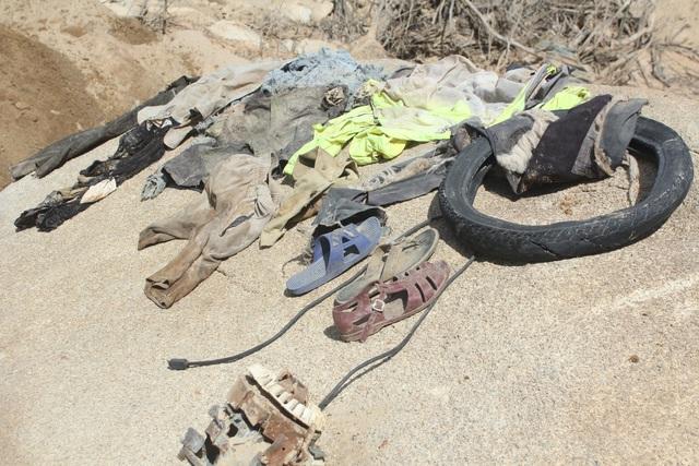 Nỗ lực tìm kiếm công nhân mất tích ở thủy điện Rào Trăng 3, tìm thấy nhiều vật dụng cá nhân - Ảnh 9.