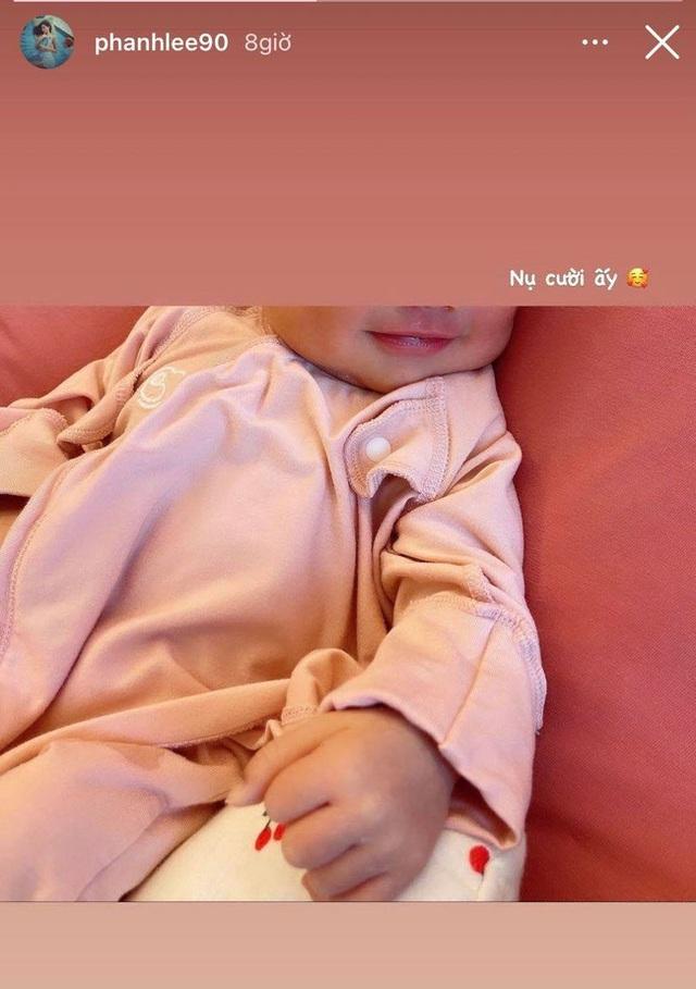 Phu nhân tập đoàn nghìn tỷ Phanh Lee hé lộ hình ảnh đáng yêu của con gái 1 tuần tuổi - Ảnh 2.
