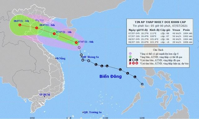 Chủ động ứng phó với áp thấp nhiệt đới đảm bảo an toàn cho thí sinh dự thi tốt nghiệp THPT - Ảnh 1.