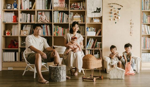 Ông bố KTS cải tạo căn hộ rộng thoáng để giúp 3 con thỏa sức vui chơi trong nhà - Ảnh 3.