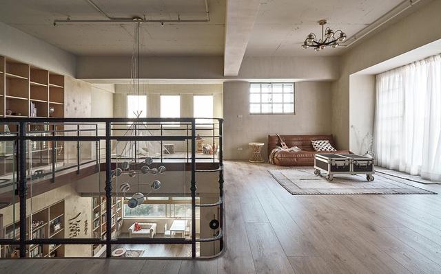 Ông bố KTS cải tạo căn hộ rộng thoáng để giúp 3 con thỏa sức vui chơi trong nhà - Ảnh 8.