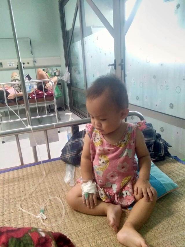 Thương cảm hoàn cảnh bé gái 1 tuổi dân tộc mắc bệnh thực bào máu - Ảnh 3.