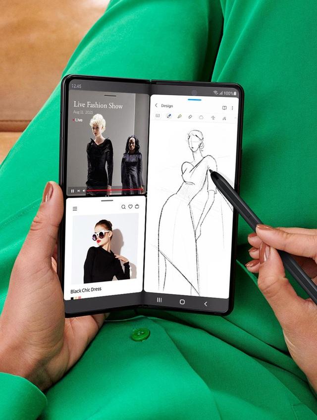 Galaxy Z Fold3 trình làng: Bền hơn, mạnh mẽ hơn nhưng giá không mềm hơn - Ảnh 4.