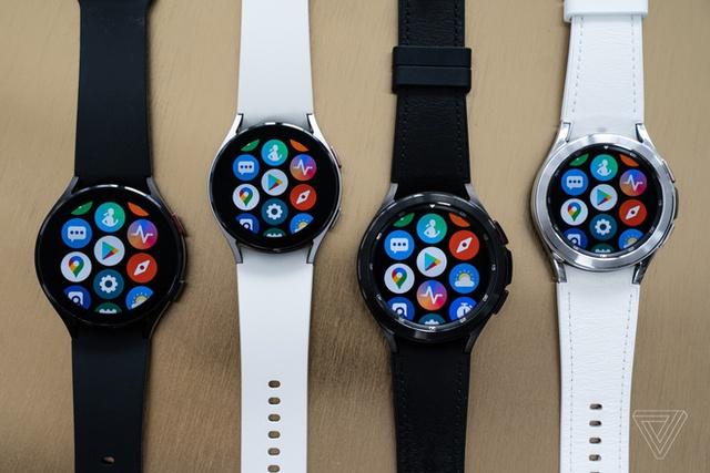 Ảnh thực tế đồng hồ Galaxy Watch4 và Galaxy Watch4 Classic - Ảnh 1.