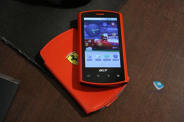 Những chiếc điện thoại mang thương hiệu siêu xe - Ảnh 6.