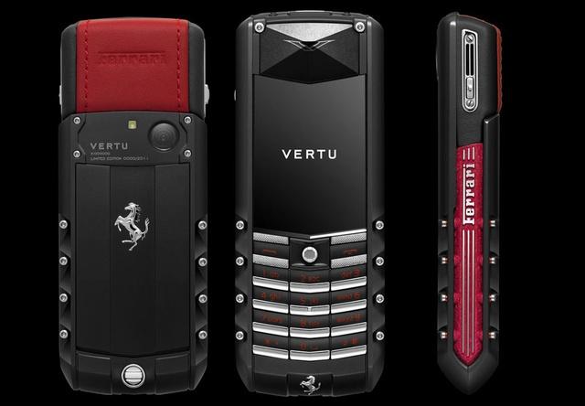 Những chiếc điện thoại mang thương hiệu siêu xe - Ảnh 7.