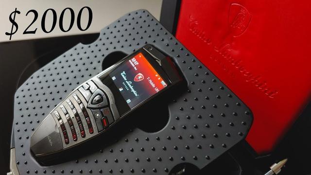 Những chiếc điện thoại mang thương hiệu siêu xe - Ảnh 5.