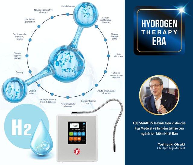 Fuji Smart i9 mở ra trào lưu nước ion kiềm siêu Hydro bảo vệ sức khỏe - Ảnh 2.