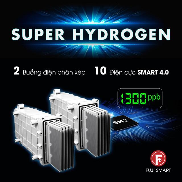 Fuji Smart i9 mở ra trào lưu nước ion kiềm siêu Hydro bảo vệ sức khỏe - Ảnh 3.
