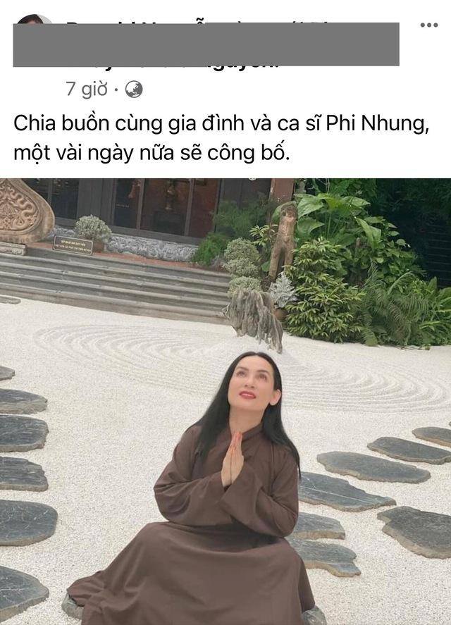"""Lại xôn xao """"Phi Nhung qua đời vì COVID-19 nhưng giấu thông tin""""? - Ảnh 2."""