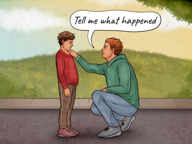 Những điều cần làm khi ai đó la mắng con bạn - Ảnh 2.