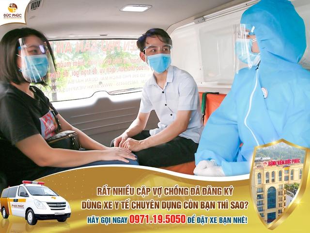 Khám và điều trị vô sinh, hiếm muộn trong thời gian giãn cách, bệnh viện Đức Phúc miễn phí đưa đón bệnh nhân bằng xe y tế chuyên dụng - Ảnh 2.