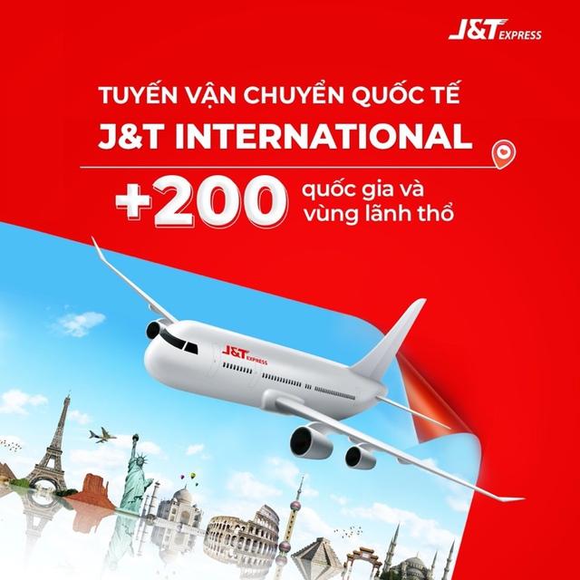 J&T Express mở rộng dịch vụ vận chuyển quốc tế với hơn 200 quốc gia - Ảnh 1.