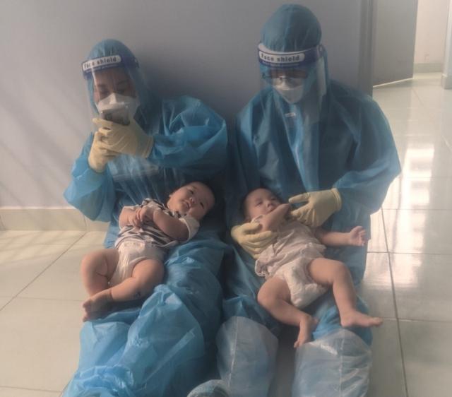Rơi nước mắt chuyện của hai em bé F0 bị bỏ rơi và đêm trắng của những ông bố, bà mẹ 9X - Ảnh 5.