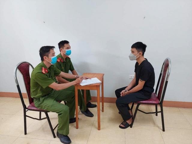 Đã bắt nghi phạm gây ra nhiều vụ cướp giật táo tợn trong đêm ở thị xã Phú Thọ - Ảnh 1.