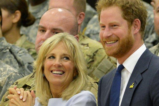 Đệ nhất phu nhân Mỹ hết lời ca ngợi Hoàng tử Harry - Ảnh 1.