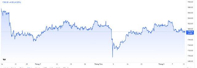 Giá vàng hôm nay 14/9: USD tăng, vàng chịu áp lực giảm - Ảnh 4.