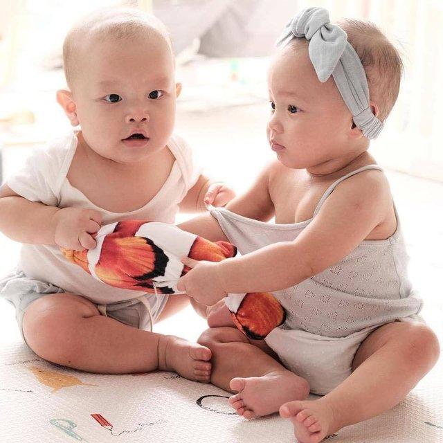 Cặp song sinh Lisa và Leon bị sinh non, Hồ Ngọc Hà khóc ròng thương con - Ảnh 6.