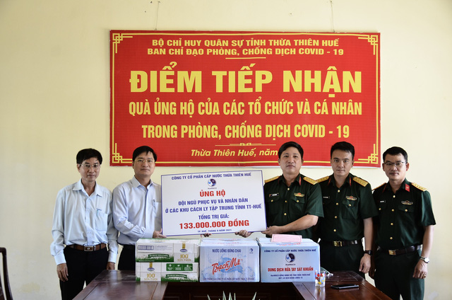 Thừa Thiên Huế: Ủng hộ hơn 1 tỷ đồng góp phần phòng, chống dịch COVID-19 - Ảnh 2.