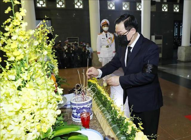 Lãnh đạo Đảng, Nhà nước viếng Đại tướng Phùng Quang Thanh  - Ảnh 3.