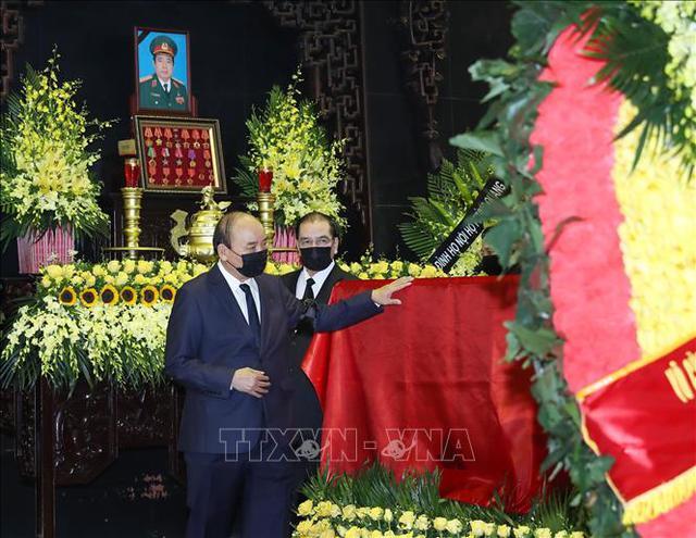 Lãnh đạo Đảng, Nhà nước viếng Đại tướng Phùng Quang Thanh  - Ảnh 6.