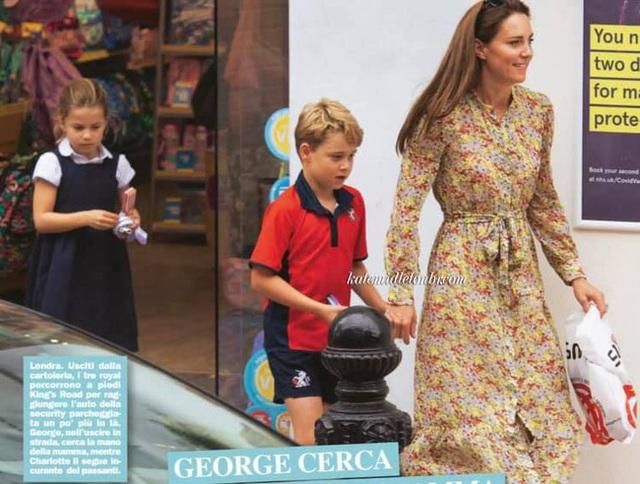 Công nương Kate lộ diện sau 60 ngày mất hút, đưa 2 con đi mua sắm với loạt cử chỉ tinh tế - Ảnh 6.