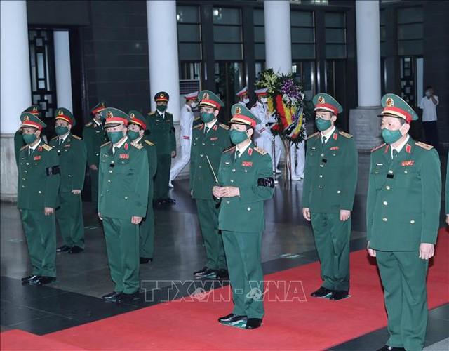 Lãnh đạo Đảng, Nhà nước viếng Đại tướng Phùng Quang Thanh  - Ảnh 10.