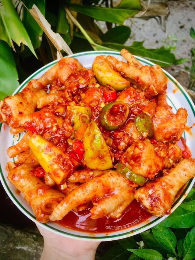 Chân gà sốt Thái làm thế này, vừa dễ vừa nhanh, chua ngọt giòn cay đủ vị  - Ảnh 7.