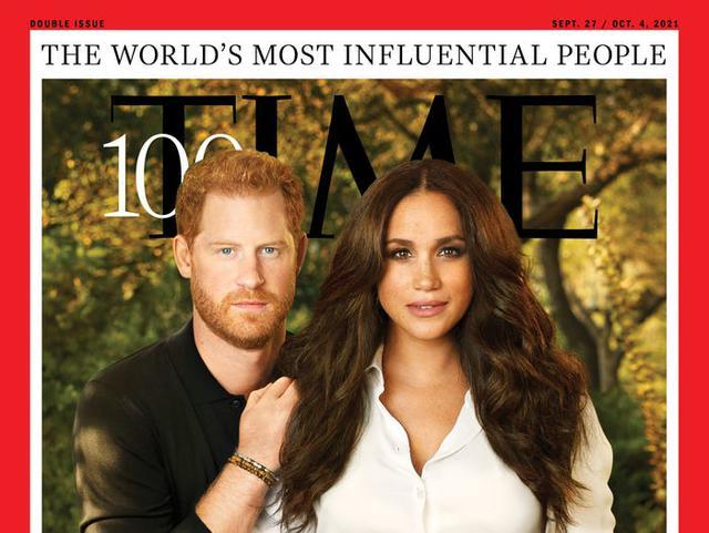 Meghan Markle lấn át Hoàng tử Harry trong khung hình ở bìa tạp chí Time, đằng sau đó còn là thông điệp sâu cay đến hoàng gia Anh - Ảnh 2.