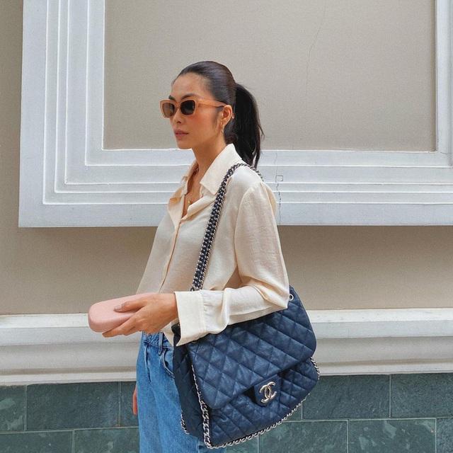 Muôn kiểu mix áo sơ mi dài tay sành điệu của mỹ nhân Việt, nàng công sở tha hồ học theo và tích lũy thêm bí quyết - Ảnh 2.